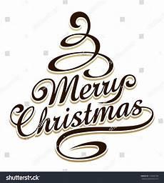 merry christmas vector shape merry christmas typography christmas tree shaped stock vector 118256158