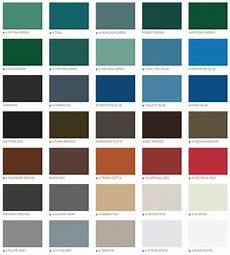 painted sheet metal product colors sps metals