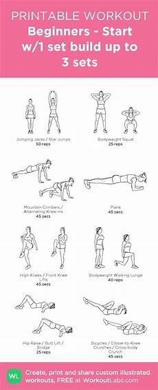 exercises beginners 18791 idea exercise home workout plans and beginner workout plans