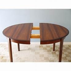 Table Ronde Repas Extensible Design Danois La Maison Retro