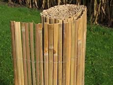 bambusmatte 100 x 500 gespalten natur pro kastanie shop
