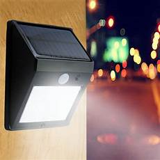 20 led solar power pir motion sensor wall light outdoor