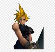 Image result for Cloud FF7 PS1