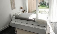 matelas lit gigogne lit gigogne avec matelas 90x190 blanc lemand