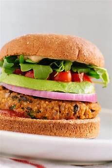 Veggie Burger Rezept - sweet potato black bean veggie burgers recipe