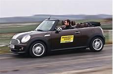 mini cooper d cabrio im test autotests autowelt