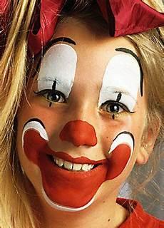 Clown Schminken 11 Kost 252 Me Clown Schminke Fasching