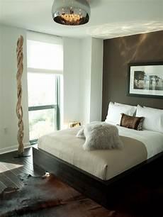 bedroom design modern bedroom dark brown grey paint