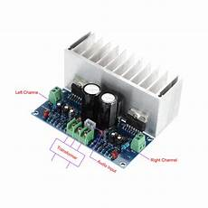 tda7293 2 100w 100w analogue stereo audio lifier board sound quality 2 channel power