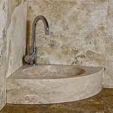 lavandino ad angolo per bagno corner lavandino in pietra di rapolano per installazione