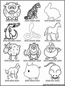 new year animals coloring pages coloring home
