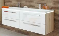 Waschtisch 140 Cm Breit - puris line doppelwaschtisch mit unterschrank 140 6 cm