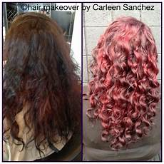 before and after conditioning color treatment and deva curl styling yelp