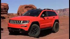 jeep grand trailhawk jeep grand trailhawk ii concept revealed