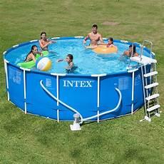 prix piscine hors sol tubulaire piscine tubulaire intex metal frame 4m57 x 122cm