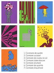 Les Sept Contrastes Color 233 S Marion Roussey