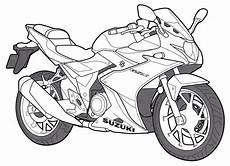 motorrad ausmalbilder kinderbilder