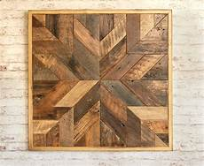Wood Timber 12inch Square Vintage Wall by Reclaimed Wood Quilt Square 36 Inch Geometric Wall