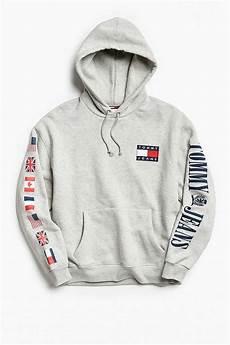 slide view 1 hilfiger 90s hoodie sweatshirt