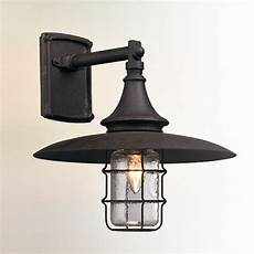 vintage industrial rustic outdoor sconce small shades of light