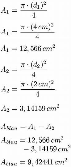 quadratmeter kreis berechnen fl 228 che kreis kreisfl 228 che