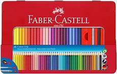 faber castell colour grip pencils assorted colours tin