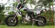 Klx 250 Modifikasi by Modifikasi Kawasaki Klx 250 Model Supermoto Minimalis