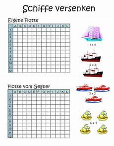 vorlage schiffe versenken ausdrucken