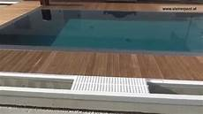 pools mit 220 berlaufrinnen aus massivem beton