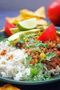 Vegan Chili Con Carne Chili Carne Gourmandelle