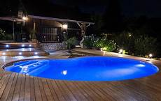 eclairage terrasse piscine piscinas waterair premiadas internacionalmente piscinas
