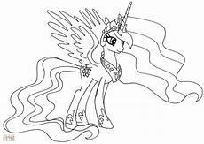 Ausmalbilder Pony Prinzessin Prinzessin Celestia Ausmalbilder Neu My Pony