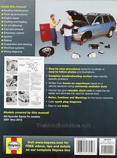 shop manual santa fe service repair hyundai haynes santafe book chilton ebay hyundai santa fe repair workshop manual 2001 2012 haynes 43050