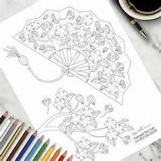 image result for japanese coloring pages for adults fans