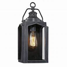 home decorators collection 1 light charred iron outdoor wall lantern sconce hd 1510 i the home