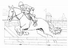 paard in stal kleurplaat n de ausmalbild auf dem