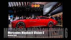 vision mercedes maybach 6 concept mondial de l