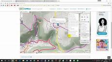 radtour mit gpsies planen und gps track in maps und