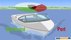 port side parts of a boat bow starboard port draft