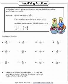 simplifying fractions worksheet for grade 5 4236 simplifying fractions worksheet with images simplifying fractions fractions math fractions