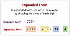 expanded form solutions exles videos worksheets games activities