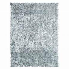 tapis shaggy gris clair tapis de salon shaggy 100 polyester lilou gris 120x170 cm