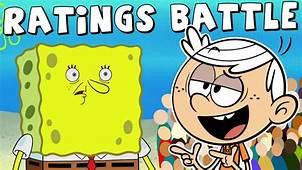 Spongebob Battles The Loud House In Ratings  YouTube