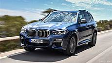 2018 bmw x3 m40i color phytonic blue front three