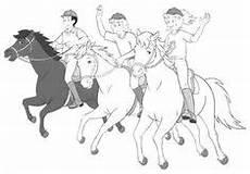 ausmalbilder bibi und tina pferde ausmalbilder kinder