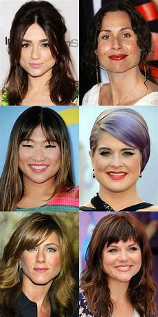 the best and worst bangs for pear shaped faces haircut for face shape pear shaped face