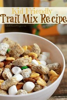 Snack Ideen - easy snack ideas trail mix recipe to combat the