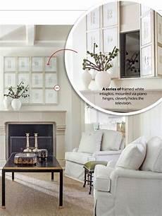 Lighten Up The Living Room Fernseher Verstecken Wohnzimmer