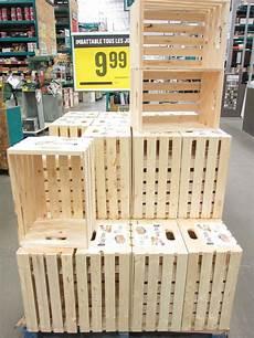 caisse rangement bois ikea o 249 trouver des caisses de bois pour sa d 233 co upcycling