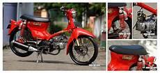 Warna C70 by Gambar Modifikasi Honda C70 Warna Merah Terbaru Pecinta